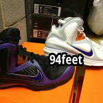 """Diana Taurasi's Nike LeBron 9 """"Mercury"""" Home & Away PEs"""