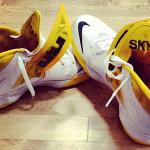 Skylar Diggins' Nike Zoom Soldier VII (7) Tulsa Shock PE