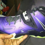 First Look at Nike Zoom Soldier VII (7) – Black and Purple