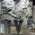 LeBron James #4xMVP Art Installation: Wynnwood Miami