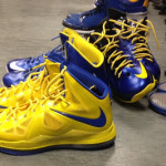 Golden State Warrior Draymond Green's LeBron X iD Collection