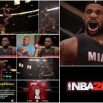 "NBA 2K14 // LeBron James Meets ""Video Game James"""