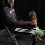 King's Feet: LeBron Wears Nike Air Flow in Last Practice