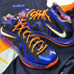 The Showcase: Nike LeBron X P.S. Elite Superhero (Lace Swap)