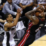 Manu Gives Spurs Spark to Beat Heat, Take 3-2 Finals Lead