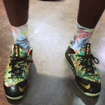 James Celebrates with Parade Through Miami in LeBron X Low Floral