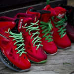 Nike LeBron X iD Inspired by Christmas 8's Build by gentry187