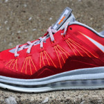 Release Reminder: Nike Air Max LeBron X Low University Red
