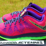 Upcoming Nike Air Max LeBron X Low Red Plum / Electric Green