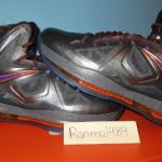 Diana Taurasi's Nike LeBron X Phoenix Mercury Away PE