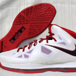 "PE Spotlight // Nike LeBron X Miami Heat ""Red Bottom"" Home PEs"