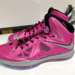 First Look at Nike LeBron X Think Pink / Kay Yow PE