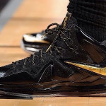 Nike LeBron PS Elite NBA Finals – Game 4 & 5 – Black / Gold PE