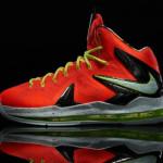"Release Reminder: Nike LeBron X P.S. Elite ""Total Crimson"""