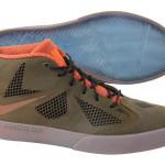 First Look at Nike LeBron X NSW Lifestyle Dark Olive / Orange