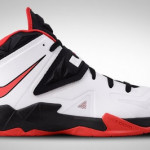 Nike Zoom Soldier VII White / Black / Red (599264-100)