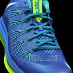"The Showcase: Nike Air Max LeBron X Low ""Treasure Blue"""