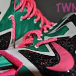 "Nike LeBron X iD ""Fontaine Bleau"" Build by TWNTY8"