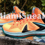 Nike LeBron X P.S. Elite EYBL aka Shooting Stars PE