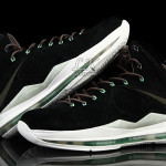 Nike Sportswear's LeBron X EXT Black / Mint (607078-001)