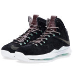 Release Reminder: Nike LeBron X EXT Black Suede / Mint