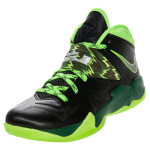 Nike Zoom Soldier VII Black / Neon Green Available at Finishline