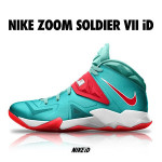 LeBron Zoom Soldier VII Available for Customization at Nike iD