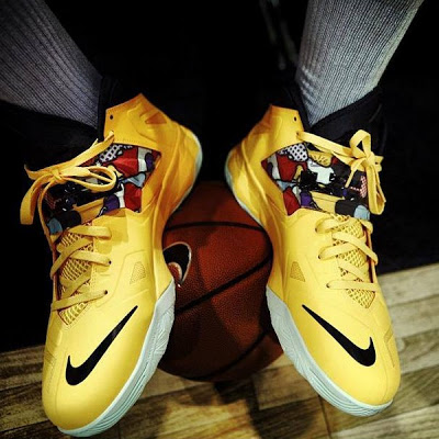 Lebron Soldier 7 Yellow Preview of Upcoming Ni...