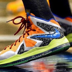 NIKEiD LeBron X P.S. Elite by Diana Taurasi for WNBA Allstar Game