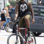 King James Rides a Bike, Wears LeBron 11 Shooting a New Nike Ad