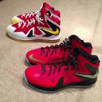 Nike iD // LeBron X P.S. Elite – MVP & Championship Pack