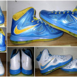 Detailed Look at Swin Cash's LEBRON X Chicago Sky PEs