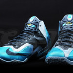 "Detailed Look at the ""Gamma Blue"" Nike LeBron XI (616175-401)"