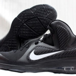 PE Spotlight // Nike LeBron 9 Triple Black with White Swoosh