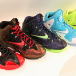 Five Different Nike LeBron XI iD Real Life Samples