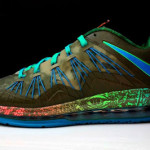 "Additional Look at Nike LeBron X Low ""Tarp Green"""