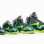 NIKE LEBRON 11 T-REX: Big Inspiration for Small Feet