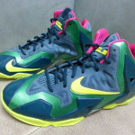 Nike LeBron XI GS – Navy / Green / Pink / Yellow
