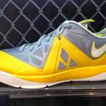 Nike LeBron ST II 579743-003 Wolf Grey/Sail/Tour Yellow