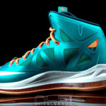 "The Showcase: Nike LeBron X ""Setting"" / Miami Dolphins"
