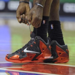 James Debuts Nike LeBron 11 Away in Miami's First Loss in Philly