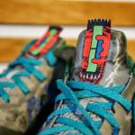 "Release Reminder: Nike Air Max LeBron X Low ""Swamp Thing"""