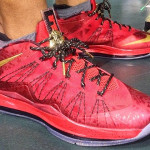 Nike Air Max LeBron X Championship Red Friends & Family PE