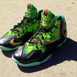 "Nike LeBron XI ""Kings Rings"" by Lancer Customs"