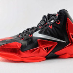 Detailed Look at Nike LeBron XI Miami Heat Away