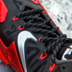 Another Look at Nike LeBron XI (11) Black Red Heat Away