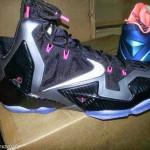 Nike LeBron XI – Carbon Fiber & Pink – Release Date