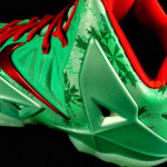 First Look at Men's Nike LeBron XI Christmas (616175-301)