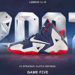"A Decade of Moments // NIKEiD LeBron XI ""Game Five"""