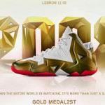 "A Decade of Moments // NIKEiD LeBron XI ""Gold Medalist"""